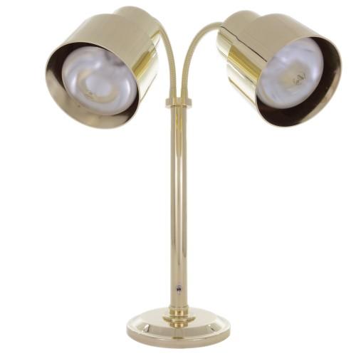 Hanson Heat Lamps Dlm 200 St Br Dual Bulb Flexible Freestanding Streamline Lamp With Finish 115 230v Halls International Specialists