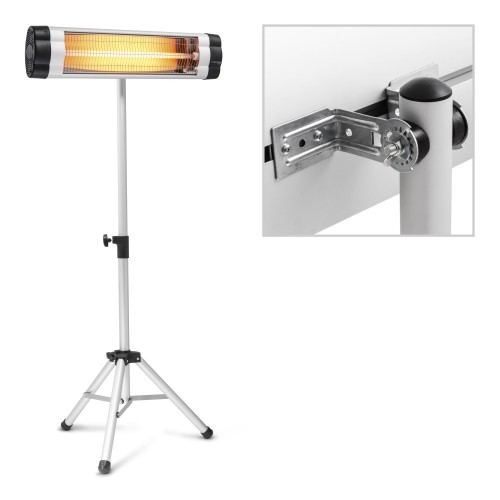 IR 2500 S + IR Telescopic Tripod Infrared Radiant Heater  added to your basket