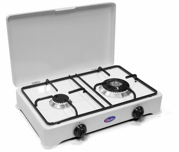 Parker 2 burners natural gas stove for outdoor use mod. 2002 GPm/C added to your basket