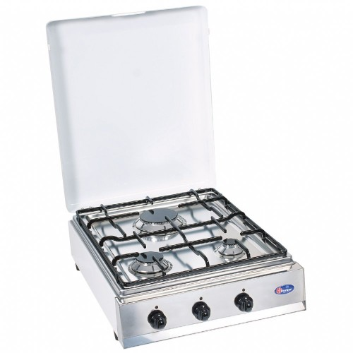 Parker 3 burners gas stove for outdoor use mod. 330BGP added to your basket
