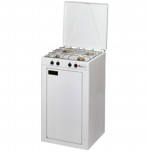 Parker Gas bottle closet + 4 burners gas stove for outdoor use mod. 541 added to your basket