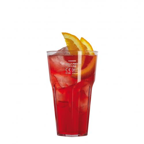 Plastico Celebrity Tumbler CE marked Half-Pint to line - Polycarbonate  added to your basket
