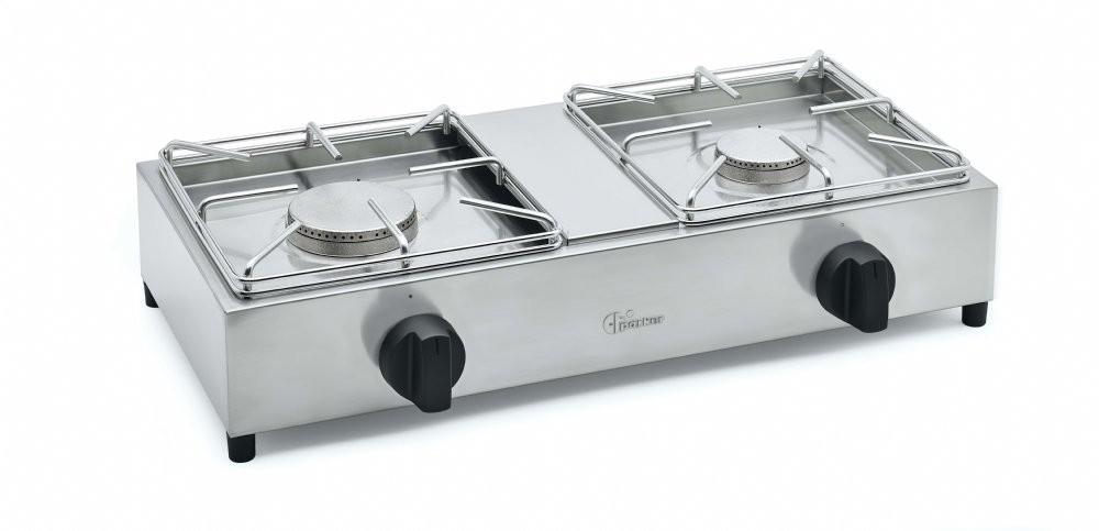 Parker 2 burner gas stove model BIG7502L 4 (kW 6.0 + kW 6.0) added to your basket