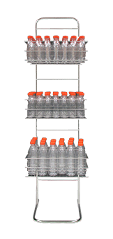 ZUMOVAL Stainless steel bottle rack added to your basket
