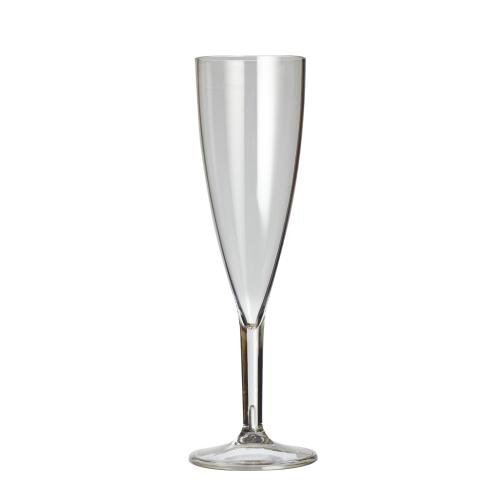 Plastico Clarity Reusable Champagne Flute 4.3oz Clear added to your basket