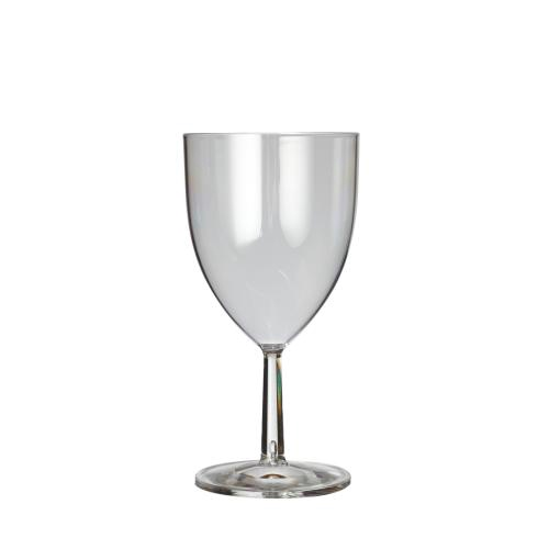 Plastico Clarity Reusable Wine Glass 7oz Clear added to your basket