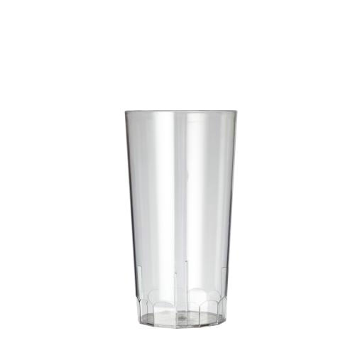 Plastico Clarity Reusable Hiball 10oz GS/CE Clear added to your basket