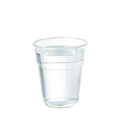 Plastico Flexy-Glass Polypropylene Tumbler 8oz LCE to Line Clear added to your basket