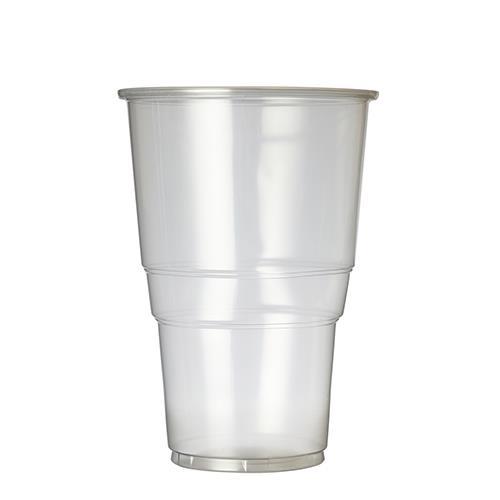 Plastico Flexy-Glass Polypropylene Half Pint 12oz LCE 10oz Clear added to your basket