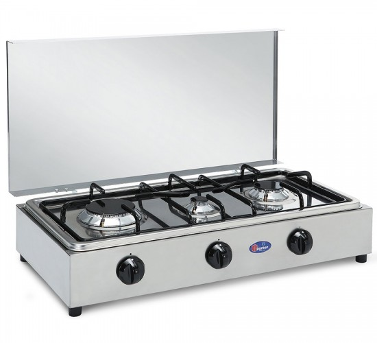 Parker 3 burners gas stove for outdoor use mod. 300 ACCGP added to your basket