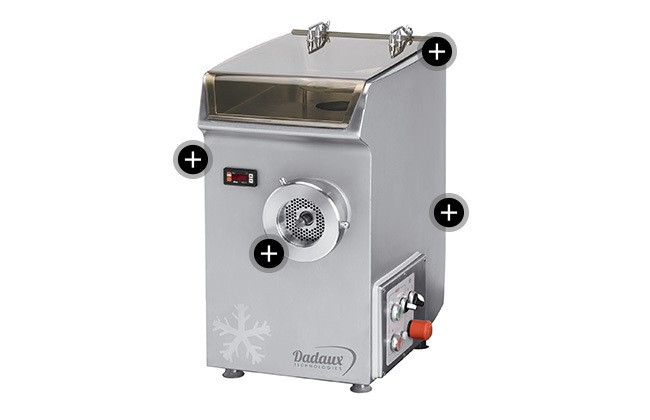 Dadaux Refrigerated meat mincer Microlite added to your basket