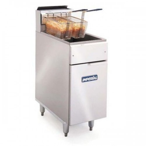 Imperial IFS-40 Twin Basket Gas Fryer added to your basket