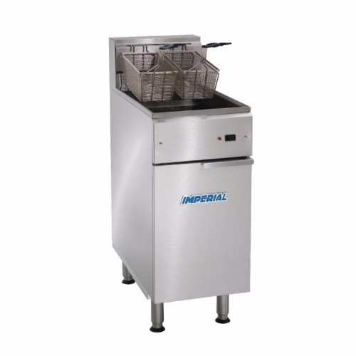 Imperial IFS-40-E-LOE 22LTR Floor Standing Electric Fryer added to your basket
