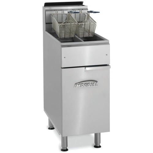 Imperial IFS-2525 Double Tank, Double Basket Gas Fryer added to your basket