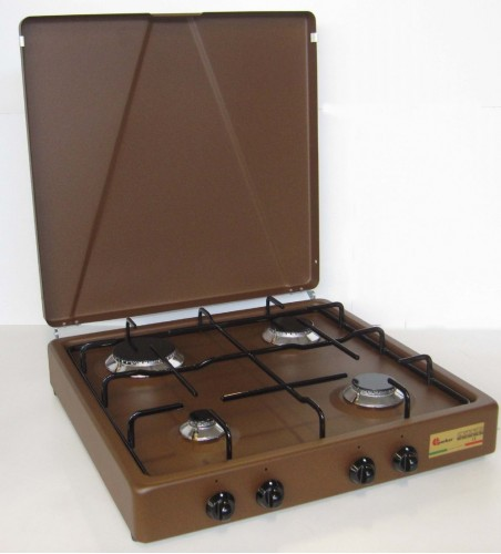 Parker 4 burners gas stove for outdoor use mod. 542 GP CORTEN added to your basket