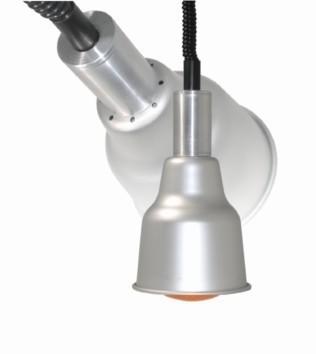 Sofraca Basic Brushed Aluminium Heat Lamp added to your basket