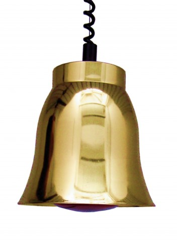 Sofraca Yellow Copper Heat Lamp added to your basket
