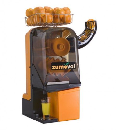 Zumoval Minimax Compact Manual Feed Orange Juice Machine with Self Cleaning Feature - 15 Oranges / Minute added to your basket